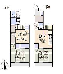 アークパレス61[1階]の間取り