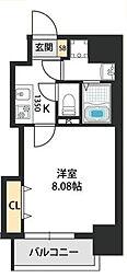 Dwelling ASAHI 7階1Kの間取り