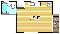 東京都葛飾区東立石3丁目の賃貸アパートの間取り