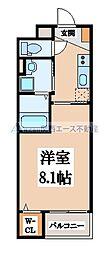 エクセレントIII藤田[5階]の間取り