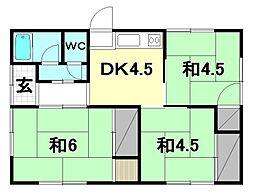 [一戸建] 愛媛県松山市居相2丁目 の賃貸【/】の間取り