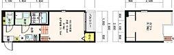 仮)中浜1丁目SKHコーポB[1階]の間取り