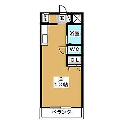 パティオNAKAHARA[2階]の間取り