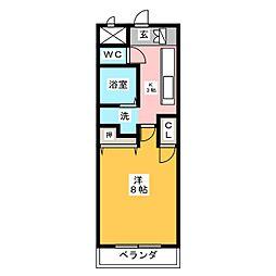 シティハイツ妙音[5階]の間取り