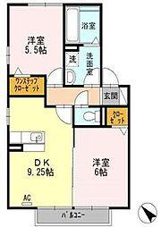 カランドリエ[2階]の間取り