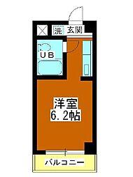 田町第二マンションB棟[204号室]の間取り