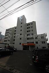 北海道札幌市豊平区中の島一条3丁目の賃貸マンションの外観