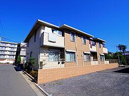 東京都西東京市向台町5丁目の賃貸アパートの外観