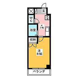 ACTRIUM・K[2階]の間取り