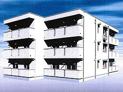 仮称)春日町新築アパート[103号室]の外観