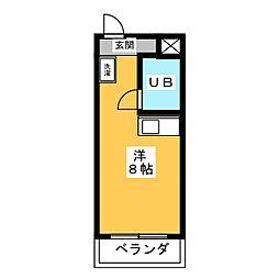 遊POINT山手[4階]の間取り