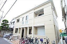 大阪府東大阪市若江本町1丁目の賃貸アパートの外観