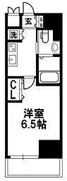 レジュールアッシュ北大阪グランドステージ[406号室]の間取り