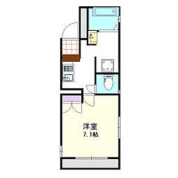 上落合SIマンション[304号室]の間取り