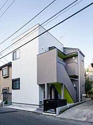 神奈川県横浜市南区八幡町の賃貸アパートの外観