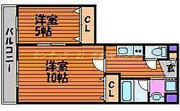 大元駅 6.4万円
