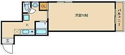 HOPE HOUSE[3階]の間取り