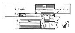 ステージ横浜[4階]の間取り