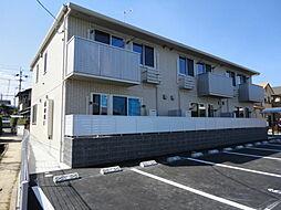 広島県広島市佐伯区利松3丁目の賃貸アパートの外観