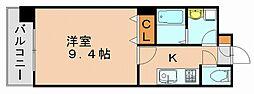 プレジールカヤシマ弐番館[2階]の間取り