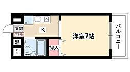 ラ・メゾン藤ヶ丘[8B号室]の間取り