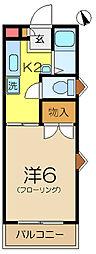 KURAMAハイツ[2階]の間取り