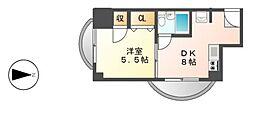 メゾン覚王山[5階]の間取り