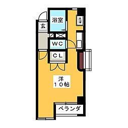 コートエバーグリーン[2階]の間取り