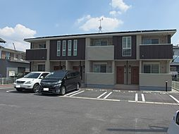 愛知県岡崎市福岡町字上流の賃貸アパートの外観