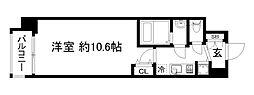 アール京都グレイス[1階]の間取り
