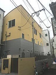 東京都中野区上高田2丁目の賃貸アパートの外観