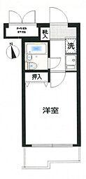 神奈川県相模原市中央区清新6丁目の賃貸マンションの間取り