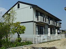 岡山県倉敷市安江の賃貸アパートの外観