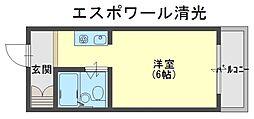 エスポワール清光[3階]の間取り
