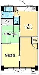 貫井ビル[2階]の間取り