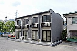 神奈川県足柄下郡湯河原町土肥3丁目の賃貸アパートの外観