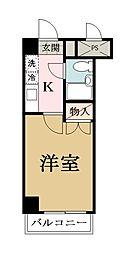 埼玉県草加市谷塚上町の賃貸マンションの間取り