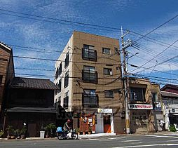 京都府京都市左京区東門前町の賃貸マンションの外観