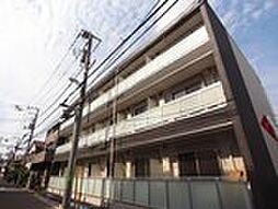 東京都北区栄町の賃貸マンションの外観