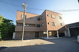 大阪府富田林市西板持町9丁目の賃貸マンションの外観