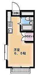 埼玉県吉川市高富2丁目の賃貸マンションの間取り
