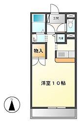 コッジィーコートFUKATA[2階]の間取り