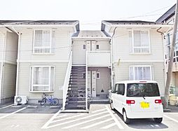山梨県笛吹市石和町八田の賃貸アパートの外観