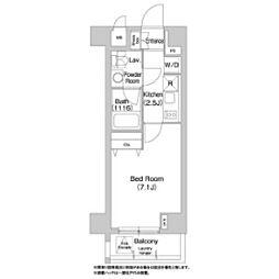 コンフォリア豊洲[7階]の間取り