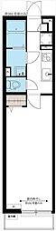 リブリ・SAGAMI[1階]の間取り