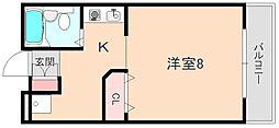 サニーハウス[106号室]の間取り