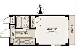 ヴィラロイヤル妙蓮寺[1階]の間取り