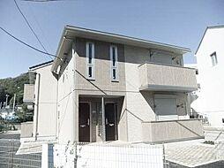 神奈川県三浦郡葉山町長柄の賃貸アパートの外観