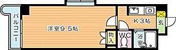 KMマンション八幡駅前I[8階]の間取り