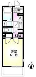 リモーネVIII[2階]の間取り